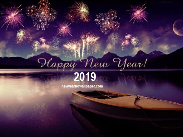 Happy New Year 2019 HD Wallpaper Download - Happy New Year 2019 Images