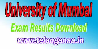 University of Mumbai Maharashtra B.COM / BA / B.M.S / B.Sc / M.Sc. / LLB / B.Ed. / M.C.A. / B.PHARM Exam Latest Results