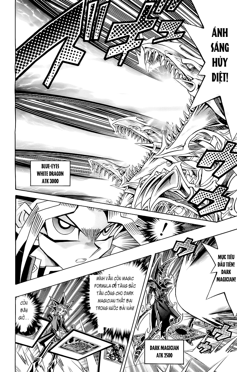 YUGI-OH! chap 260 - red-eyes black gragon trang 10