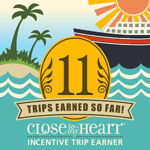 Wahoo!!  This year, 2020, I earned my 11th Incentive trip all EARNED through CTMH!!!  Thank you!!