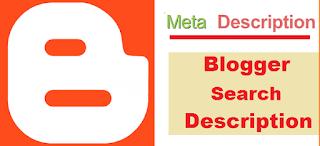 Add Search Description On Blogger 0