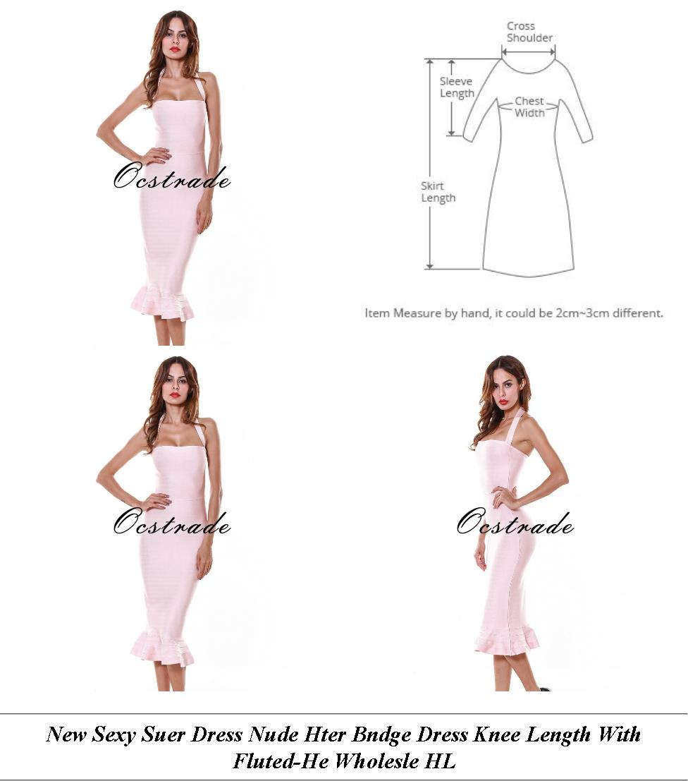 Lace Dresses With Sleeves White - Summer Sale Shoppers Stop - Evening Cocktail Dresses Online