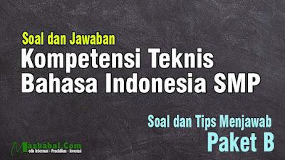 40 Soal P3K Kompetensi Teknis Bahasa Indonesia Tahun 2021 #1