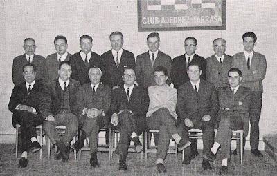 Equipo del Club Ajedrez Terrassa, Campeones de Cataluña 1969