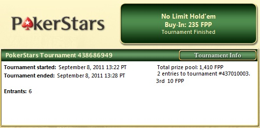 Spending your Pokerstars FPPs