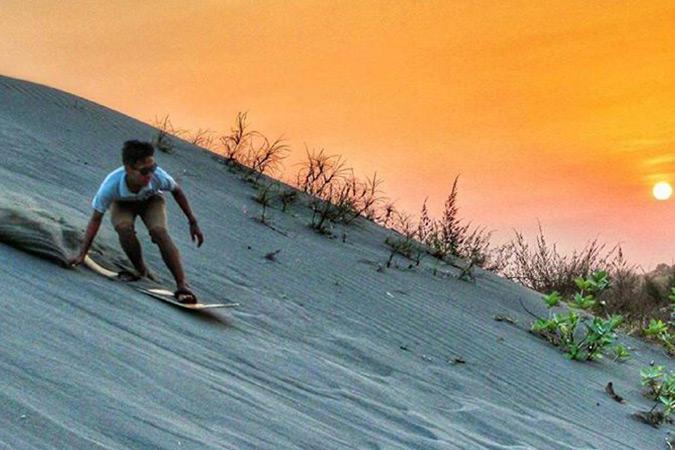 Dlium Parangtritis sand dune