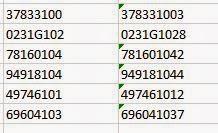 Cusip Number Format
