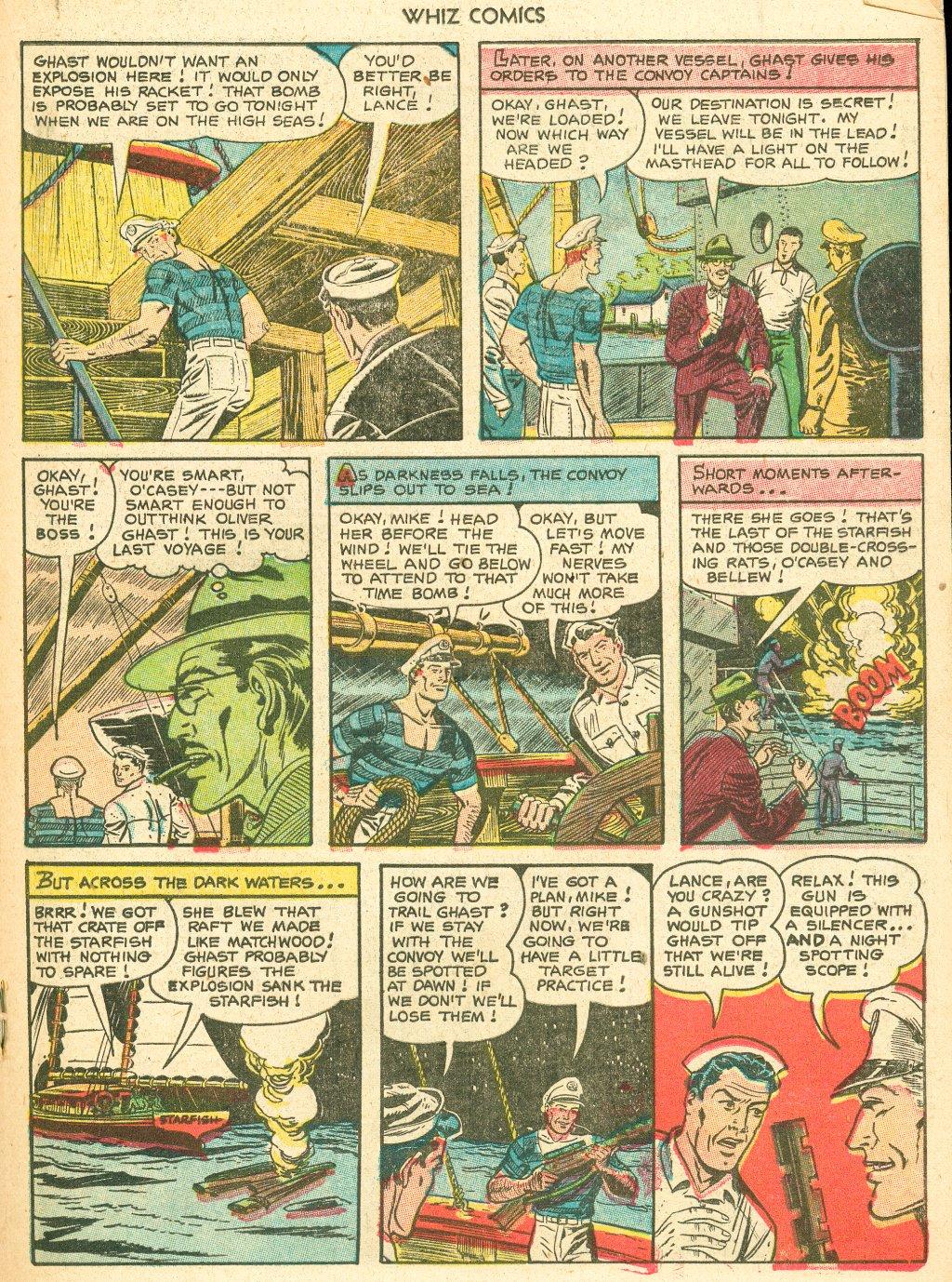 WHIZ Comics #155 #156 - English 19
