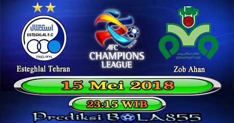 Prediksi Bola855 Esteghlal Tehran vs Zob Ahan 15 Mei 2018