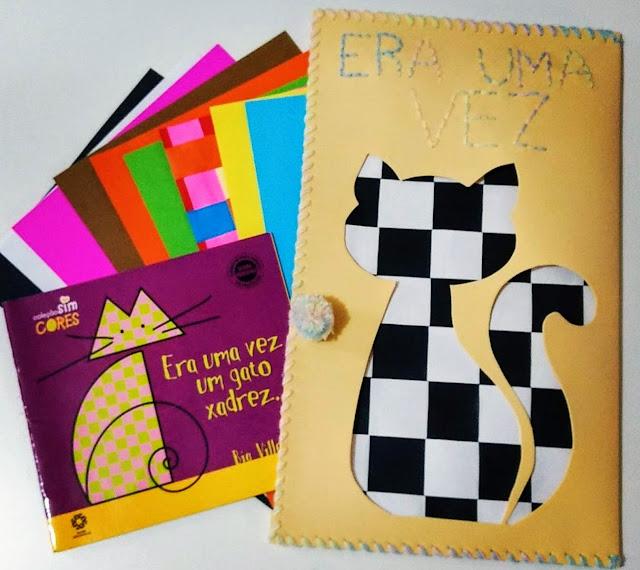 hora do conto, historia, o gato xadrez, gato, bia villela, eva, livro, dona maricota feliz, escola, alfabetização, sala de aula, material pedagógico
