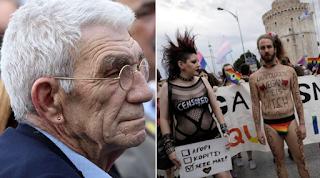 «Να μαθαίνουμε για την oμoφυλοφιλία στο σχολείο όχι μόνο για τον Παλαιών Πατρών Γερμανό» προτείνει ο δήμαρχος Μπουτάρης