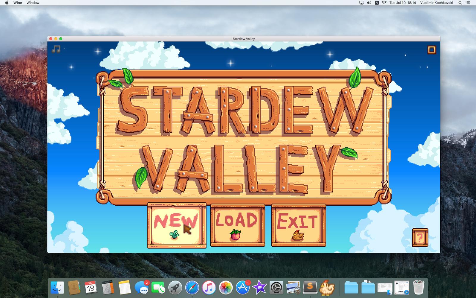 GetVladimir com: How to run Stardew Valley on a Mac