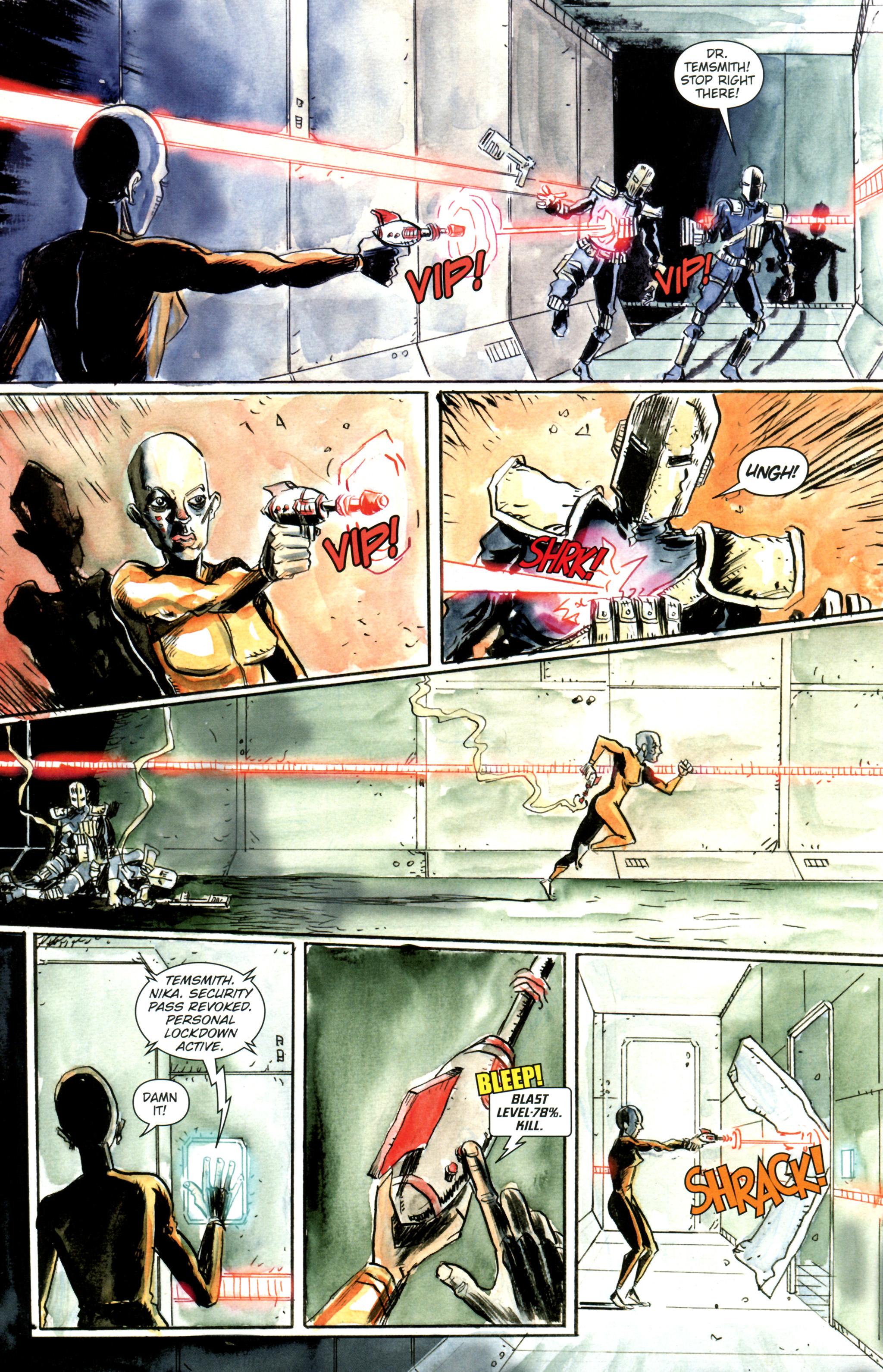 Read online Trillium comic -  Issue #3 - 10
