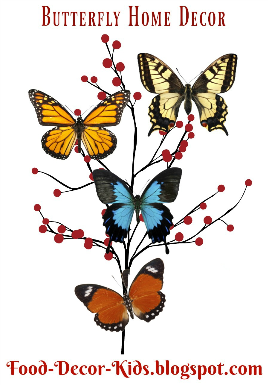 Butterfly Decor For Your Home