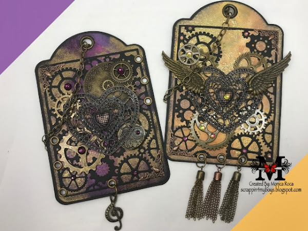 G45 Steampunky Tags