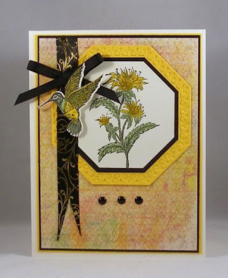 Our Daily Bread Designs, Bee Balm, Hummingbird, hummingbird die, Blooming Garden Collection