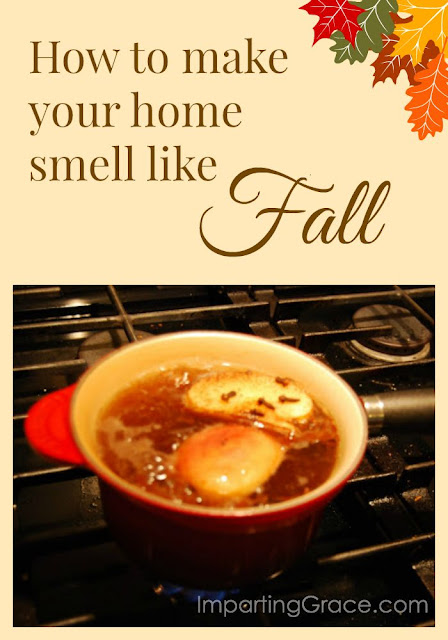 Simple secret to making your home smell like Fall