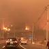Constitución en llamas por posibles atentados según vídeos