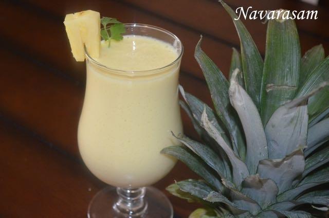 Vettu Cake Recipe Kerala Style: Navarasam: Pineapple Shake