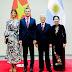 El presidente Mauricio Macri en la comida de honor ofrecida por su par de Vietnam, Phu Trong