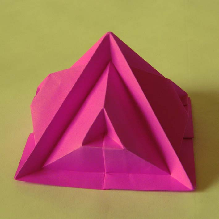 Origami Piramide quinta - Fourth pyramid by Francesco Guarnieri