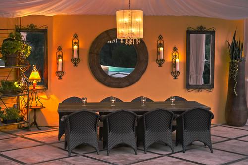 romantic patio design