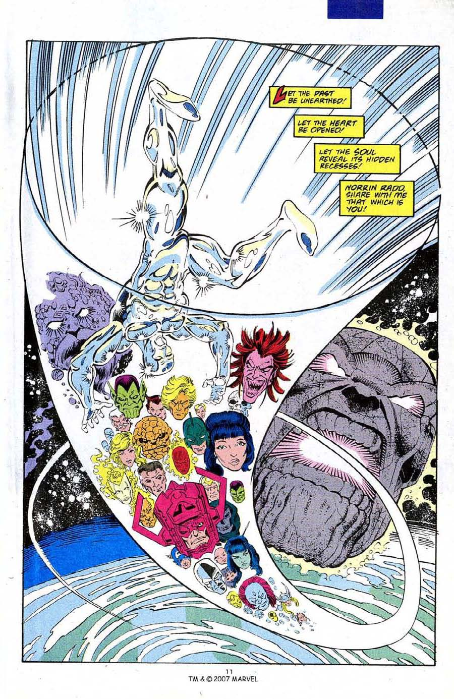 Read online Silver Surfer (1987) comic -  Issue #50 - 13