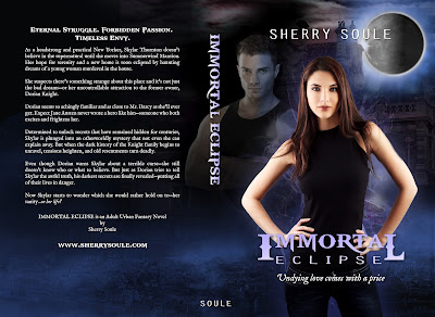 Cover Reveal: Immortal Eclipse by Sherry Soule