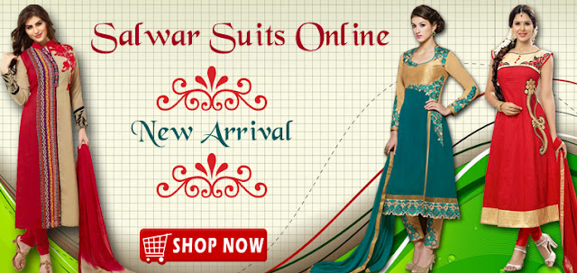 New wedding parties salwar kameez and dresses 2016 online shopping collection in lowest rates at pavitraa.in