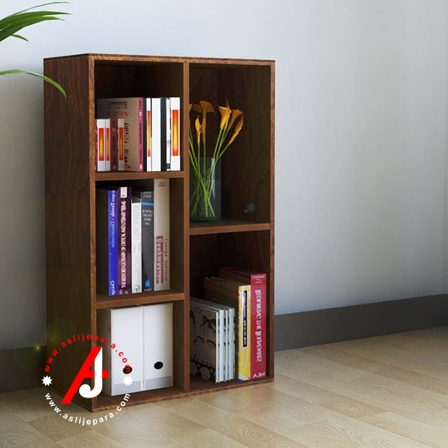 rak buku minimalis