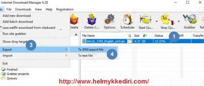 Melanjutkan download file dikomputer lain1