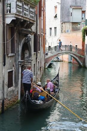 venise italie san marco canal gondole