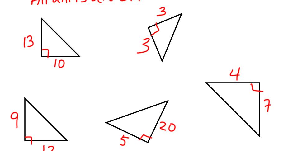 Sargent Park Math Zone: Pythagoras 1
