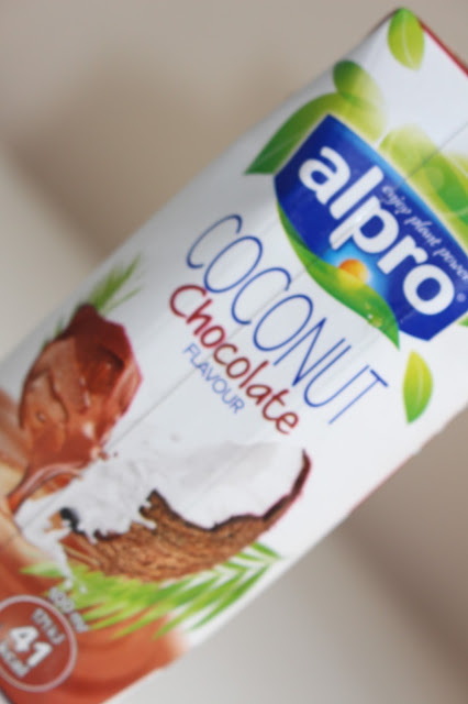 alpro coconut chocolate flavour