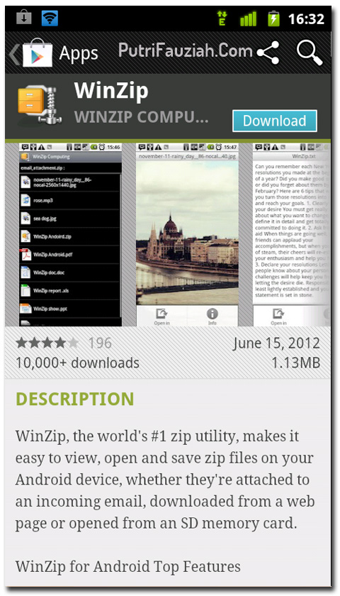 Winzip For Android Download
