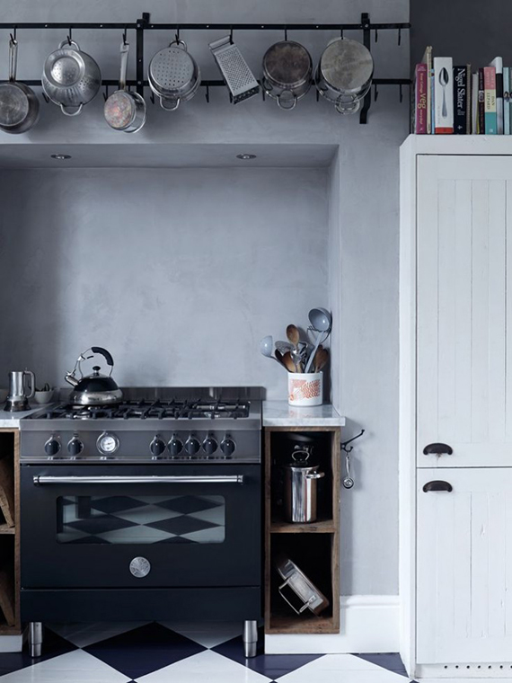 LOVE OR NOT: Industrial kitchens | Image via Mark Lewis Interior Design