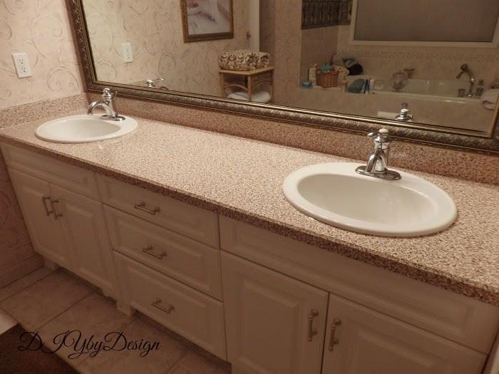 Diy By Design Master Bathroom Updates Continue Diy Faux