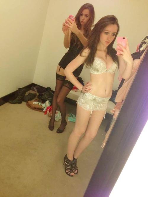 girl tumblr Black bikini