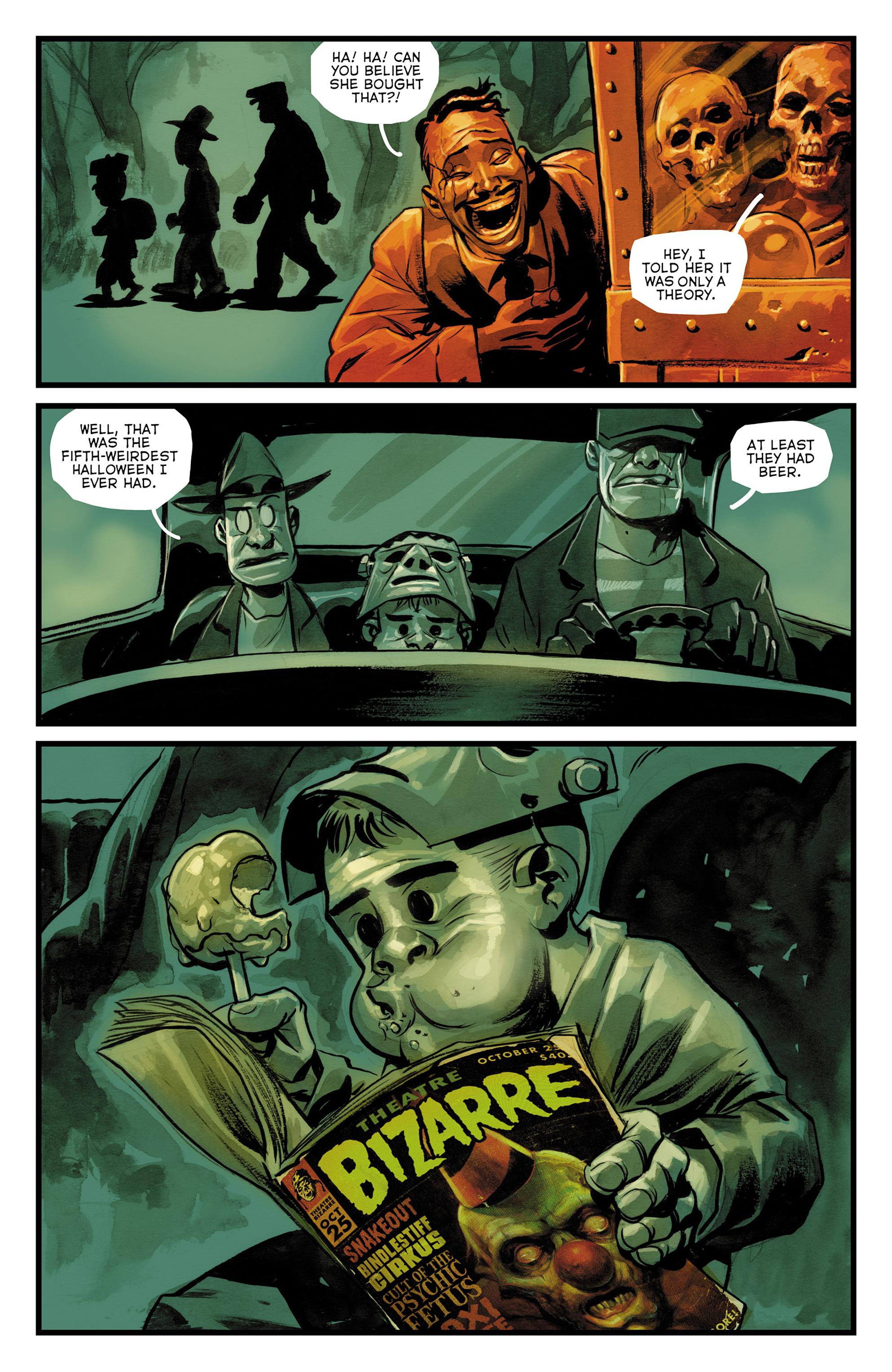 Read online The Goon: Theatre Bizarre comic -  Issue # Full - 21
