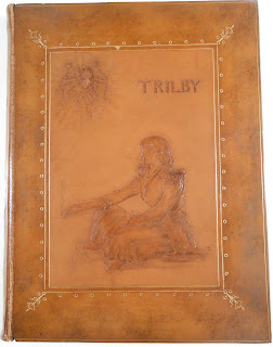Cover 1895 deluxe edition of Trilby