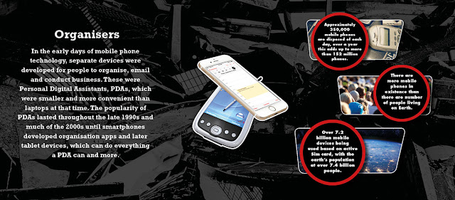 Approximately 350,000 mobile phones are disposed of each day, over a year this adds up to more than 152 million phones