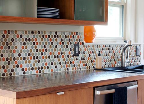 Kayla LeBaron Interiors: Glass Tile Backsplash