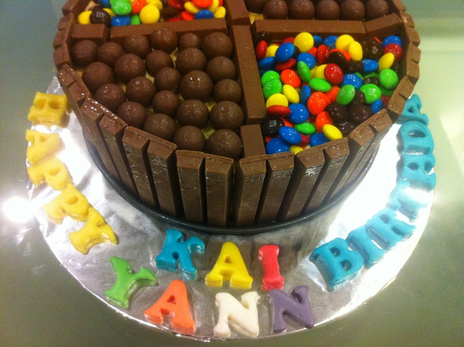 Baking For Cowboys Kit Kat Ice Cream Cake 奇巧冰淇淋蛋糕