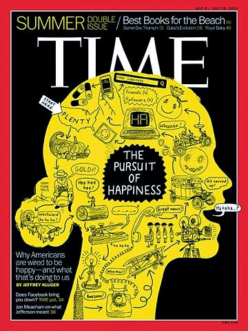 Times Magazine Pursuit Of Happiness
