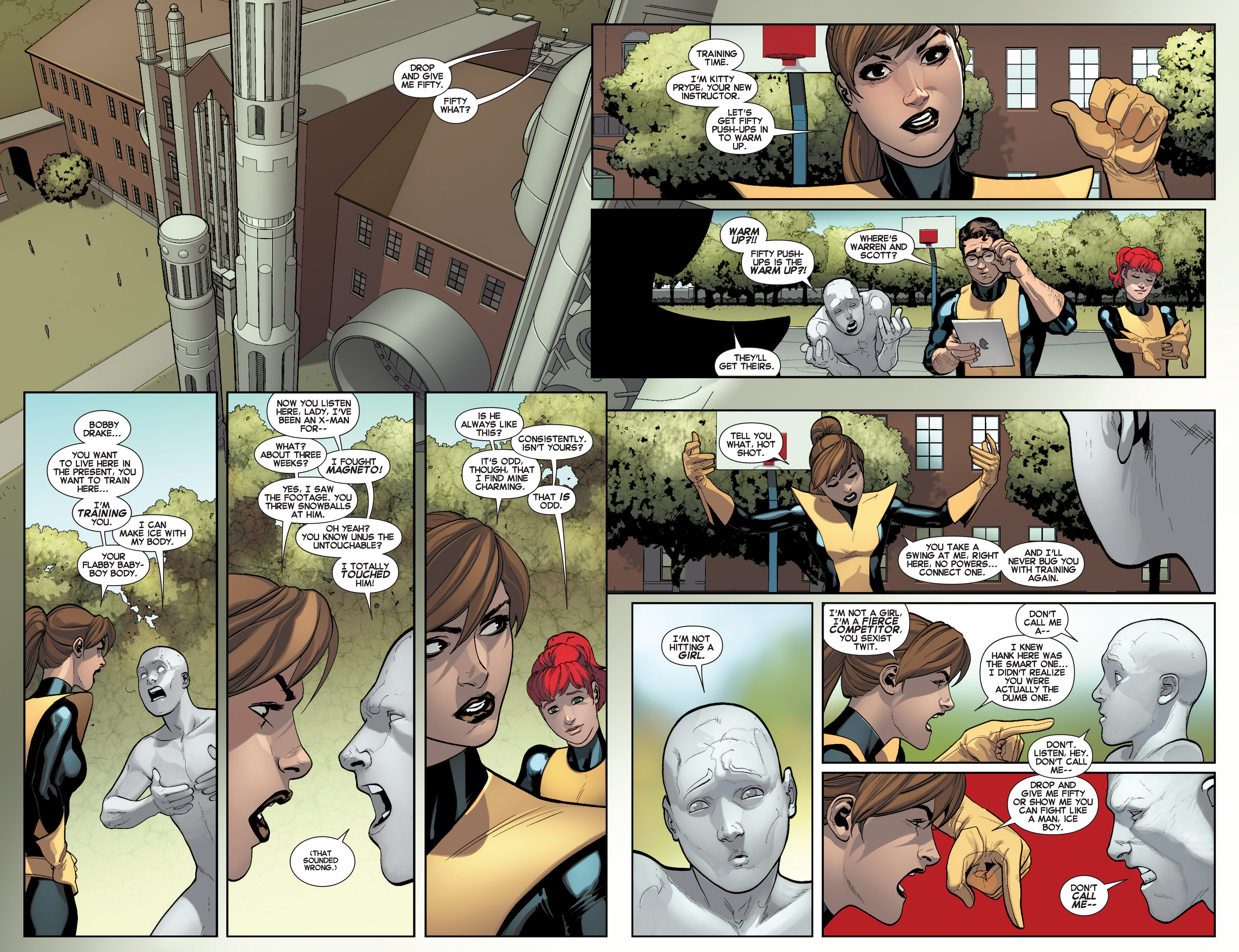 Read online All-New X-Men (2013) comic -  Issue # _Special - Here To Stay - 39