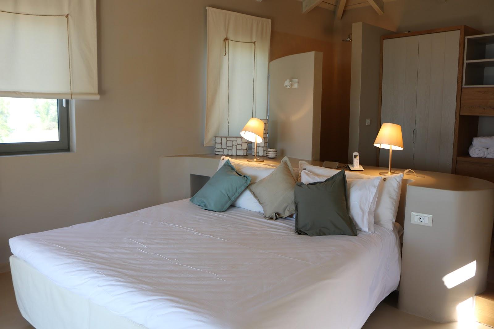 Penthouse Bedroom, F Zeen Resort, Unique Villas, Kefalonia