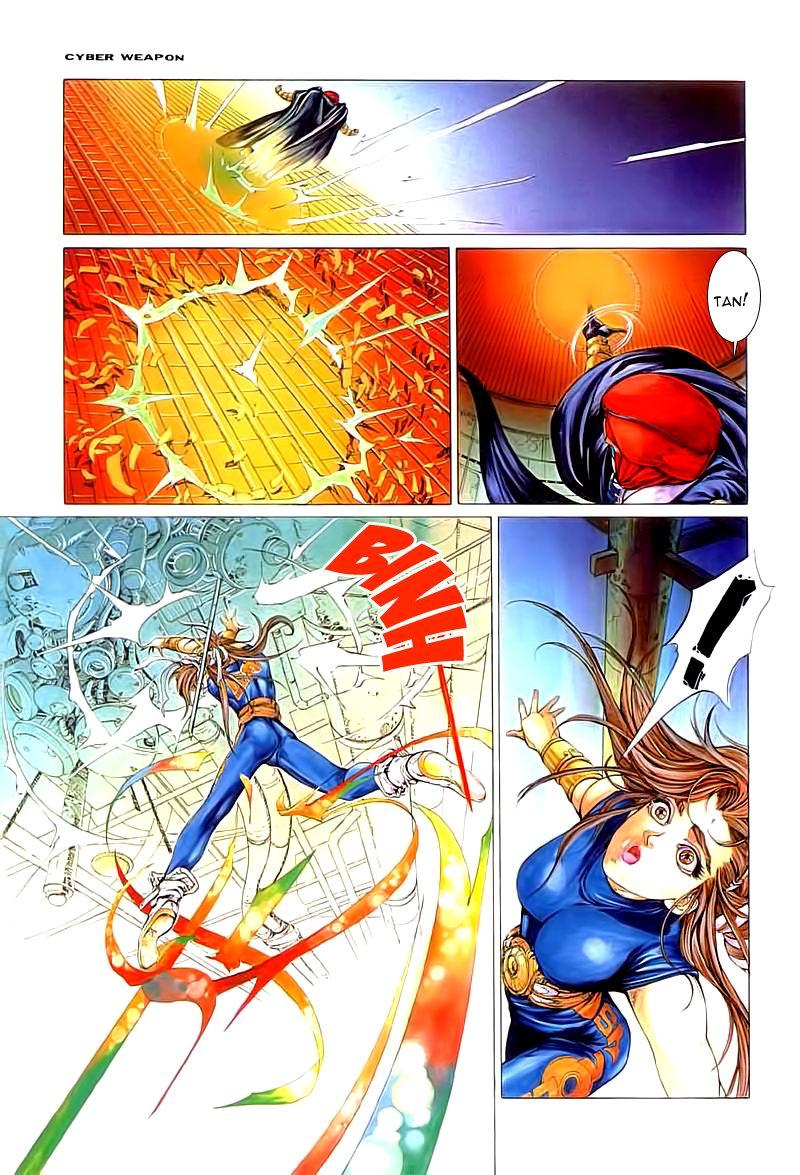 Cyber Weapon Z - Siêu Thần Z chap 2 - Trang 41