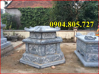 Mộ hình lục giác bằng đá - 210956