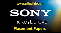 Sony Placement Papers