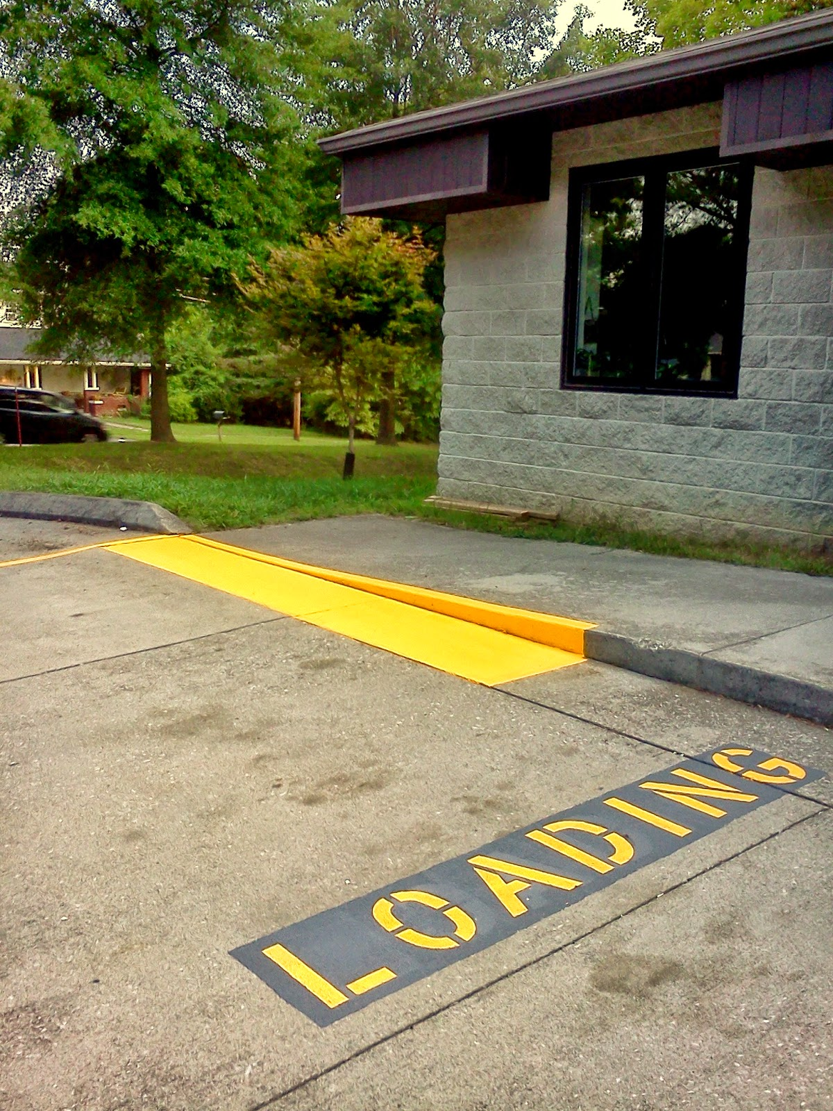 Parking Lot Striping Knoxville